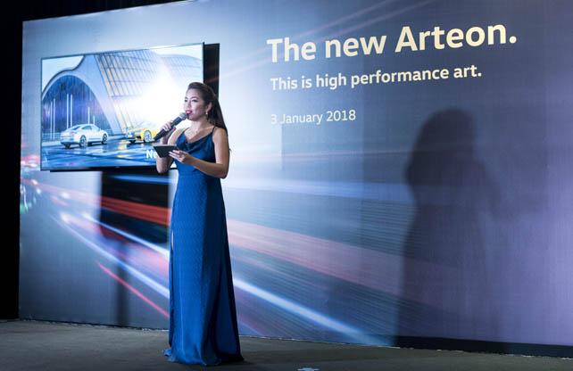 Launch of Volkswagen Arteon